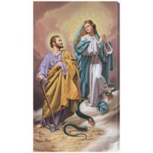 The Immaculata and the Terror of Demons 10 x 18 Canvas Print
